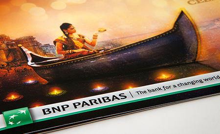 BNP Paribas Diwali 2014 Invitation image