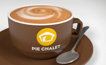 Pie Chalet Brand Creation image